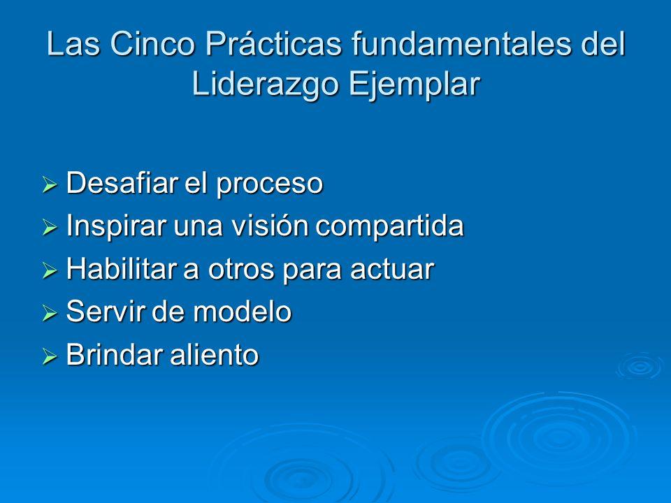 Las Cinco Prácticas fundamentales del Liderazgo Ejemplar