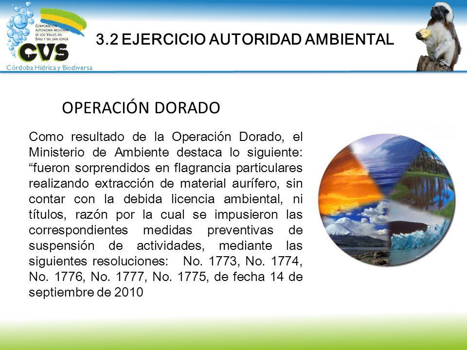3.2 EJERCICIO AUTORIDAD AMBIENTAL