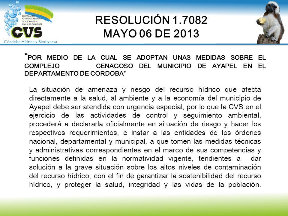 RESOLUCIÓN 1.7082 MAYO 06 DE 2013.