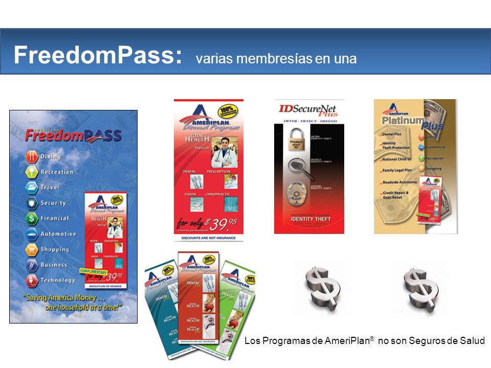 The Company FreedomPass: varias membresías en una