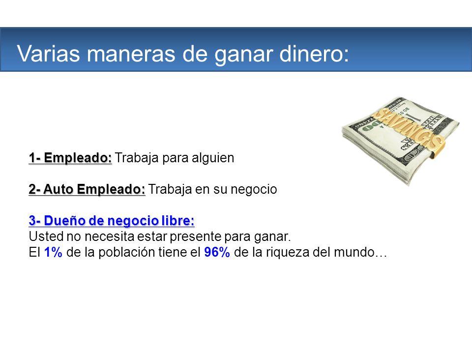 The Company Varias maneras de ganar dinero: