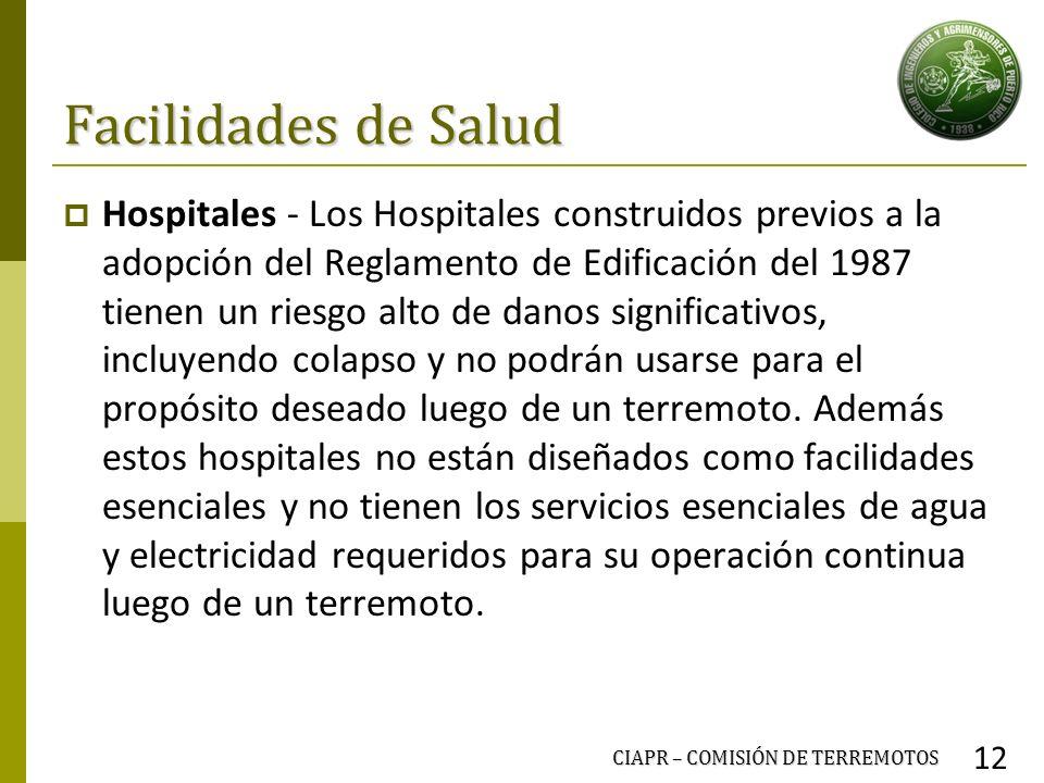 Facilidades de Salud