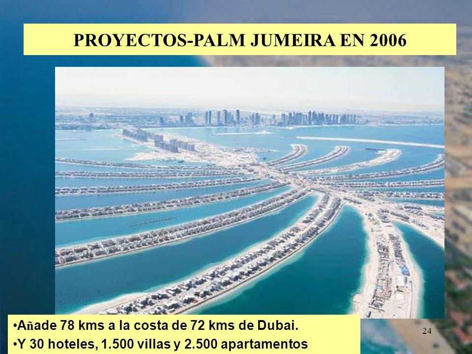 PROYECTOS-PALM JUMEIRA EN 2006