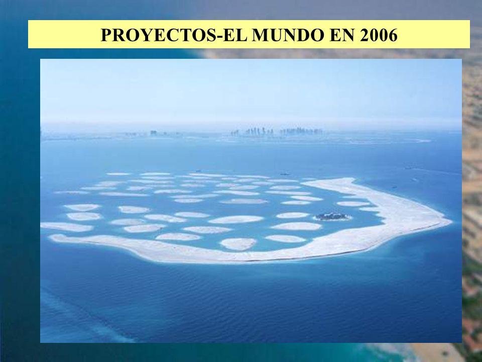 PROYECTOS-EL MUNDO EN 2006
