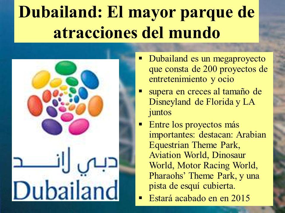 Dubailand: El mayor parque de atracciones del mundo