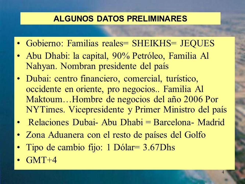 ALGUNOS DATOS PRELIMINARES