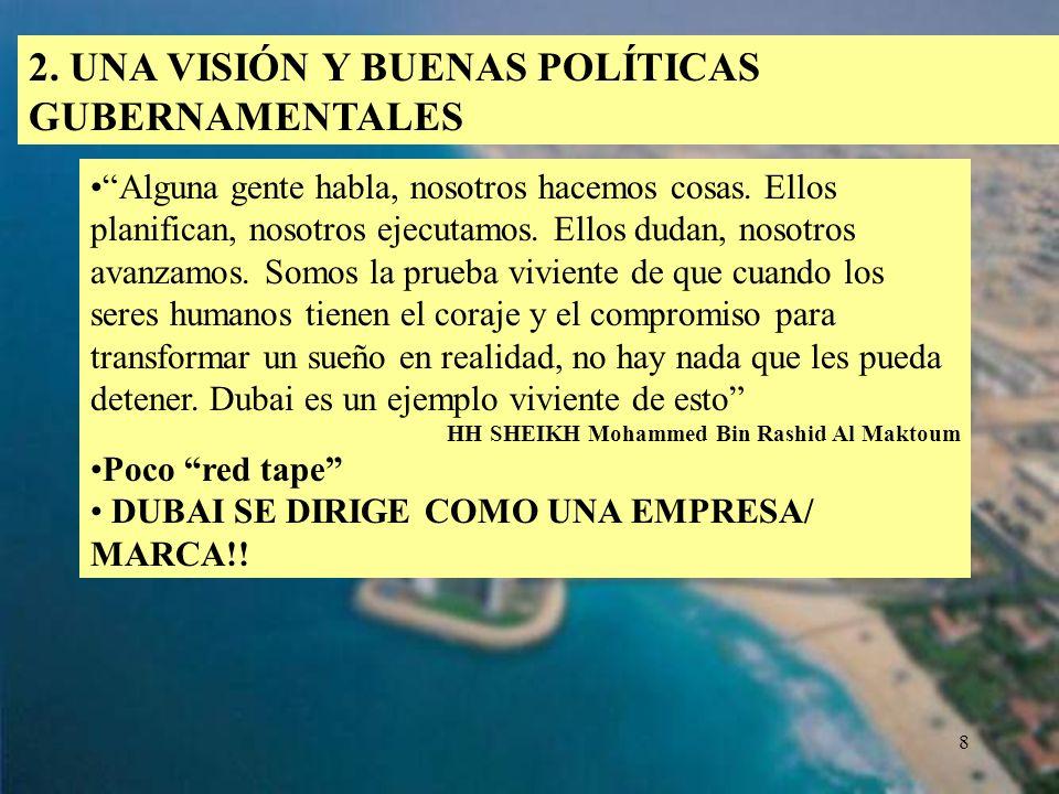 2. UNA VISIÓN Y BUENAS POLÍTICAS GUBERNAMENTALES