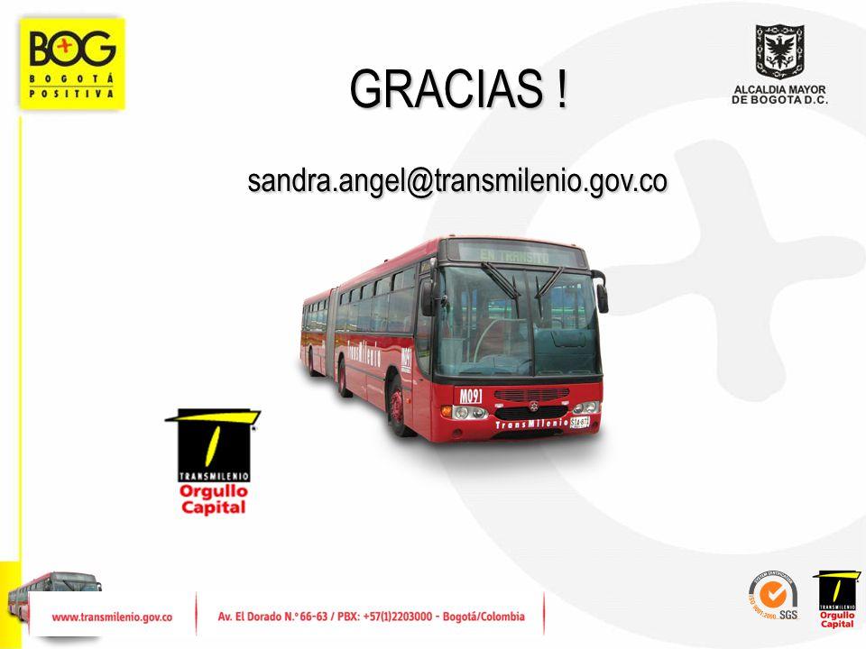 GRACIAS ! sandra.angel@transmilenio.gov.co