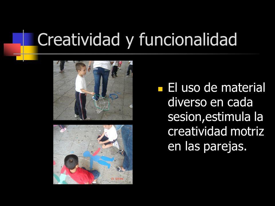 Creatividad y funcionalidad