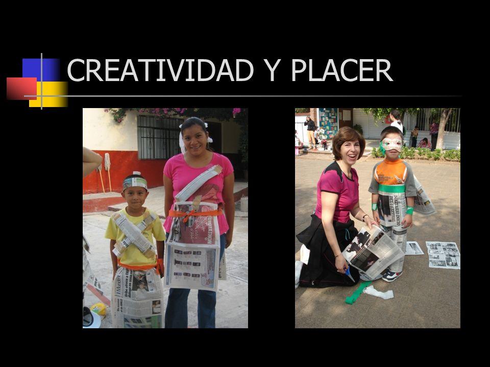 CREATIVIDAD Y PLACER