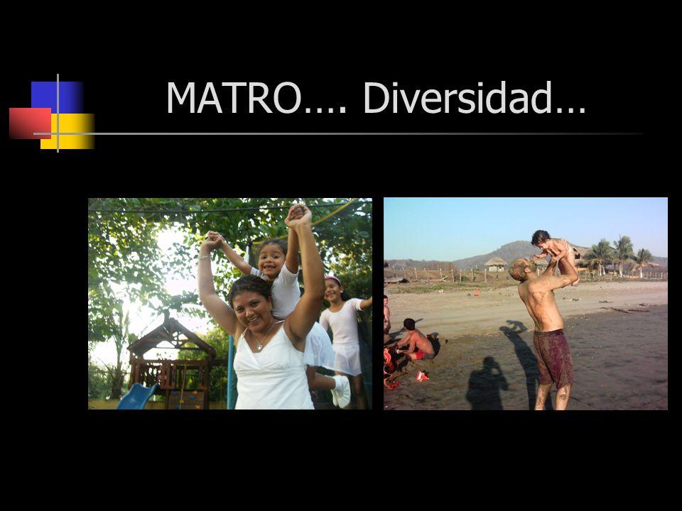 MATRO…. Diversidad…