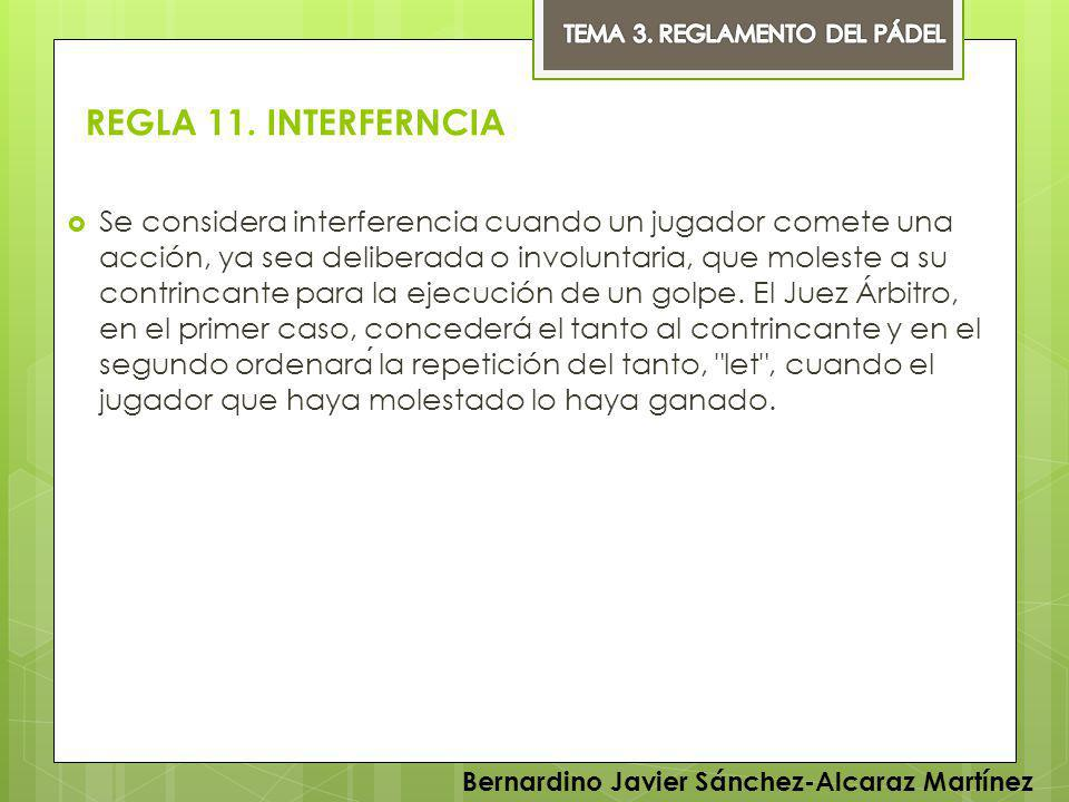 TEMA 3. REGLAMENTO DEL PÁDEL