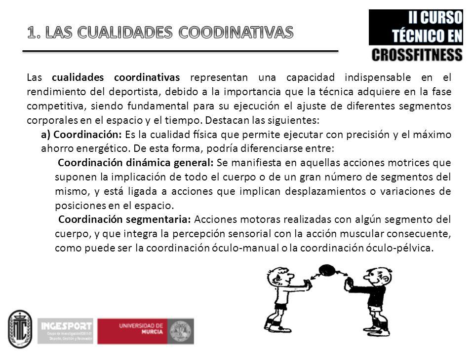1. LAS CUALIDADES COODINATIVAS
