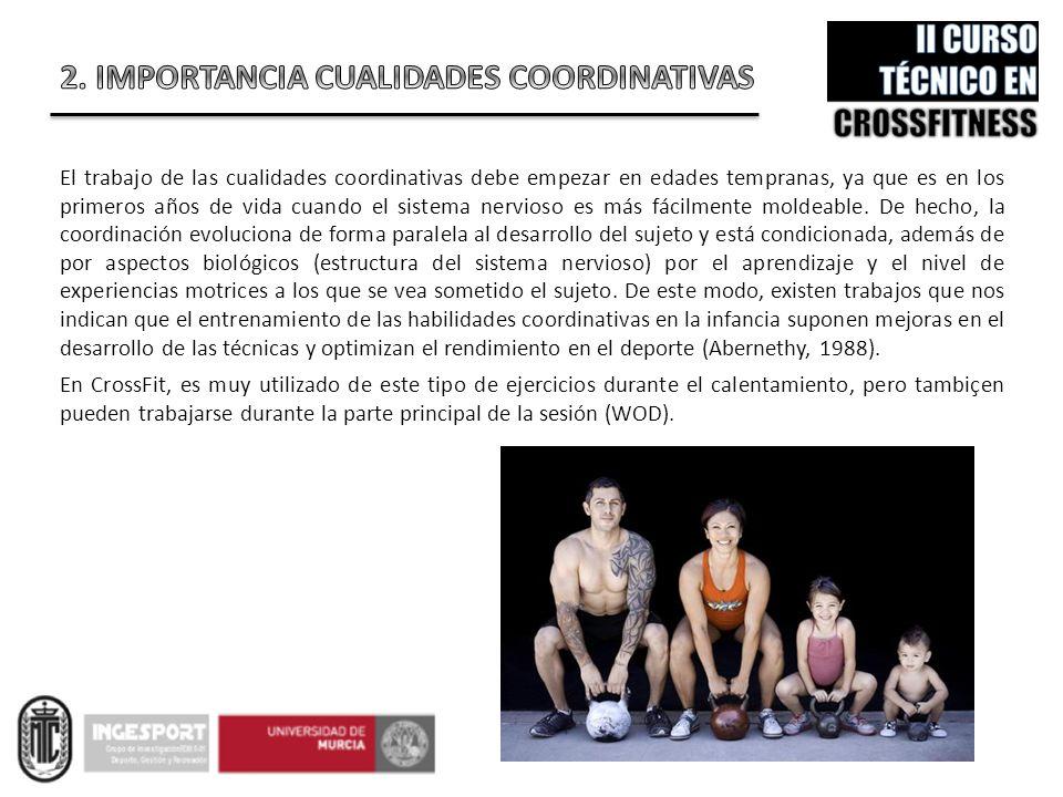 2. IMPORTANCIA CUALIDADES COORDINATIVAS