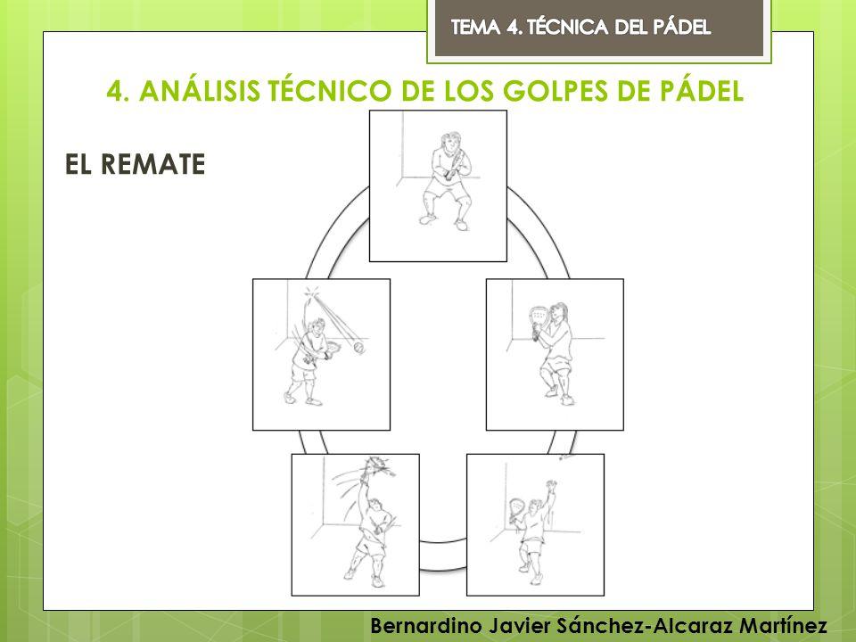 4. ANÁLISIS TÉCNICO DE LOS GOLPES DE PÁDEL