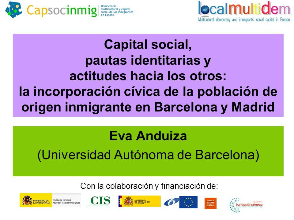 Eva Anduiza (Universidad Autónoma de Barcelona)