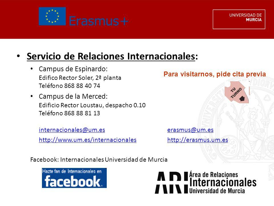 Servicio de Relaciones Internacionales: