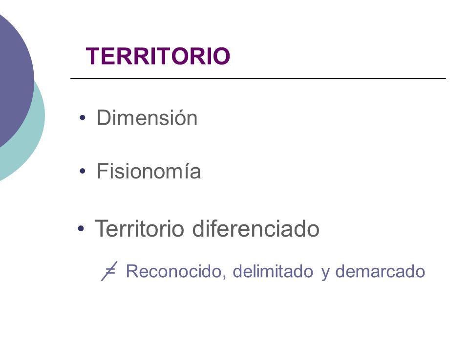 Territorio diferenciado