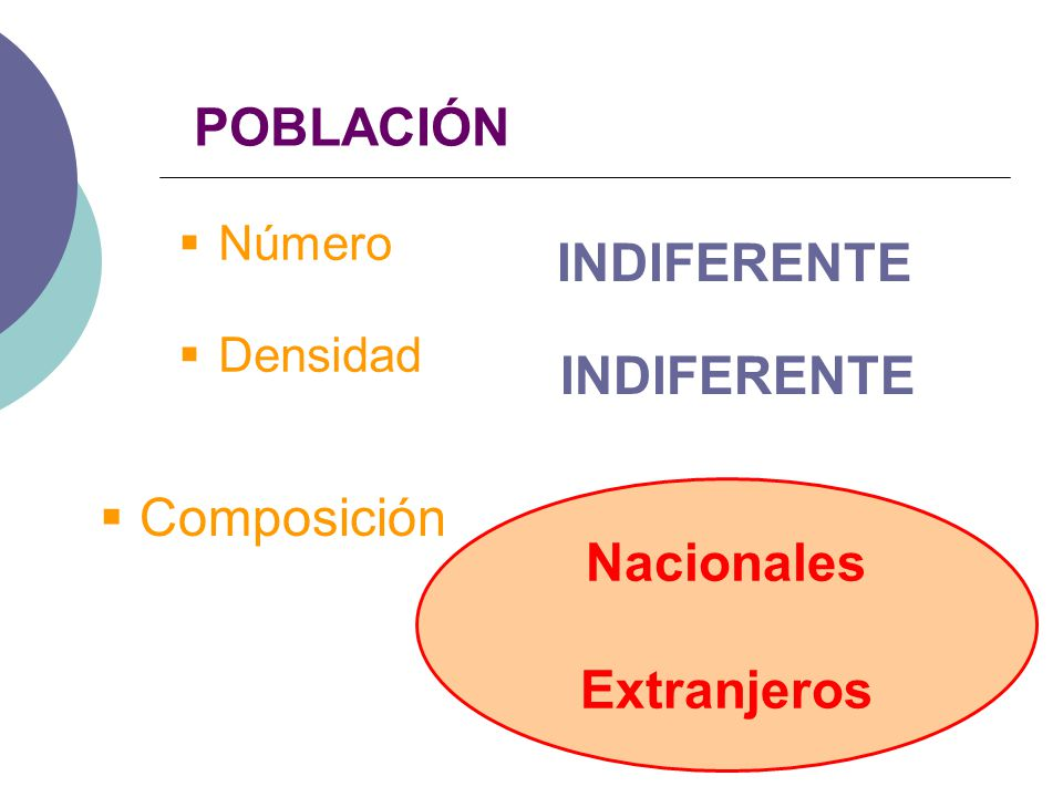 Nacionales Extranjeros