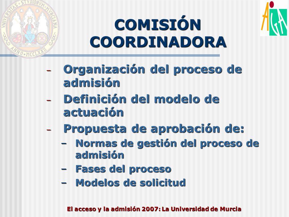 COMISIÓN COORDINADORA
