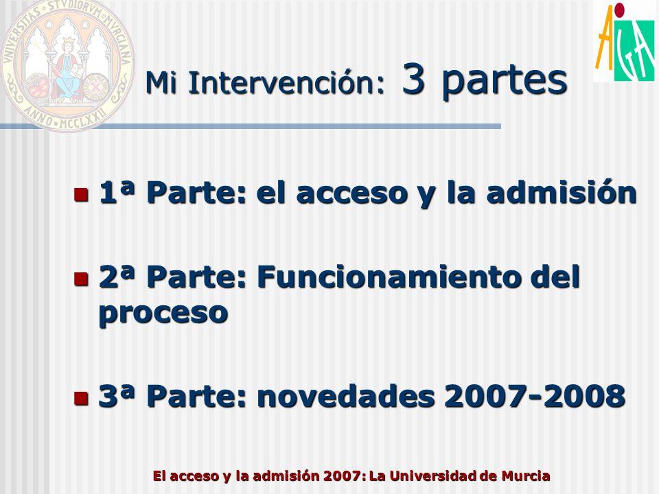 Mi Intervención: 3 partes