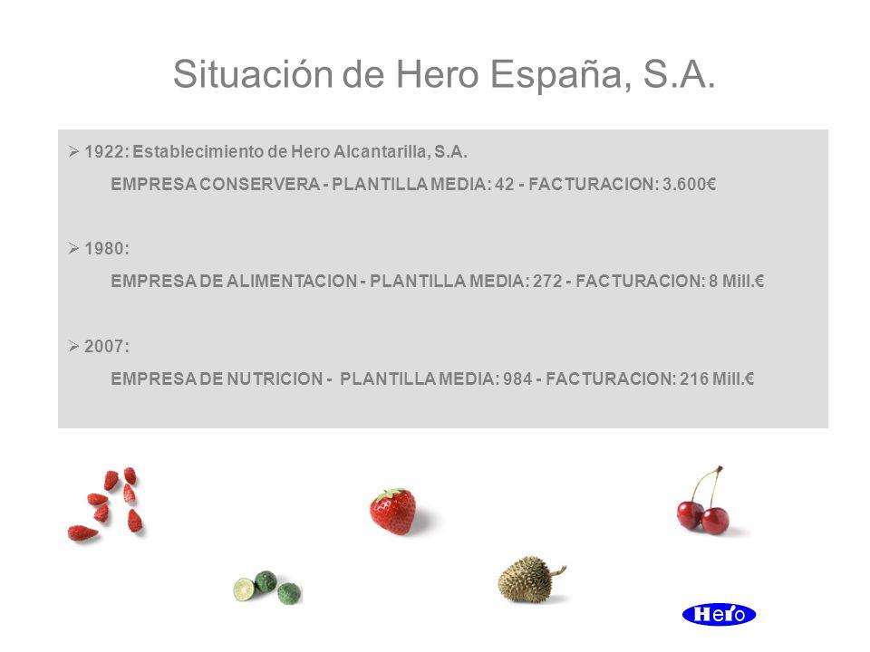 Situación de Hero España, S.A.