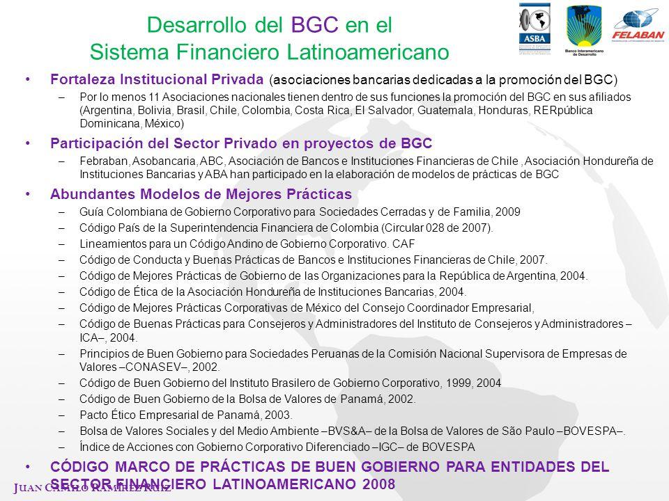 Desarrollo del BGC en el Sistema Financiero Latinoamericano
