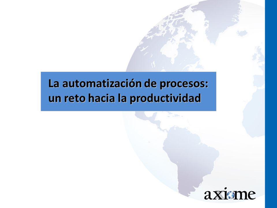 La automatización de procesos: