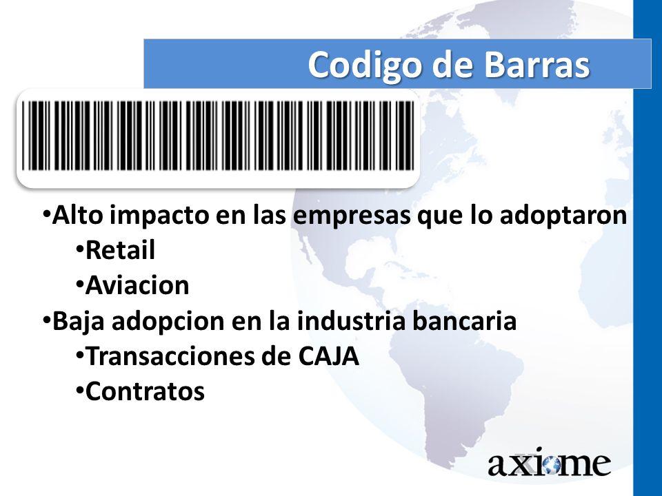 Codigo de Barras Alto impacto en las empresas que lo adoptaron Retail