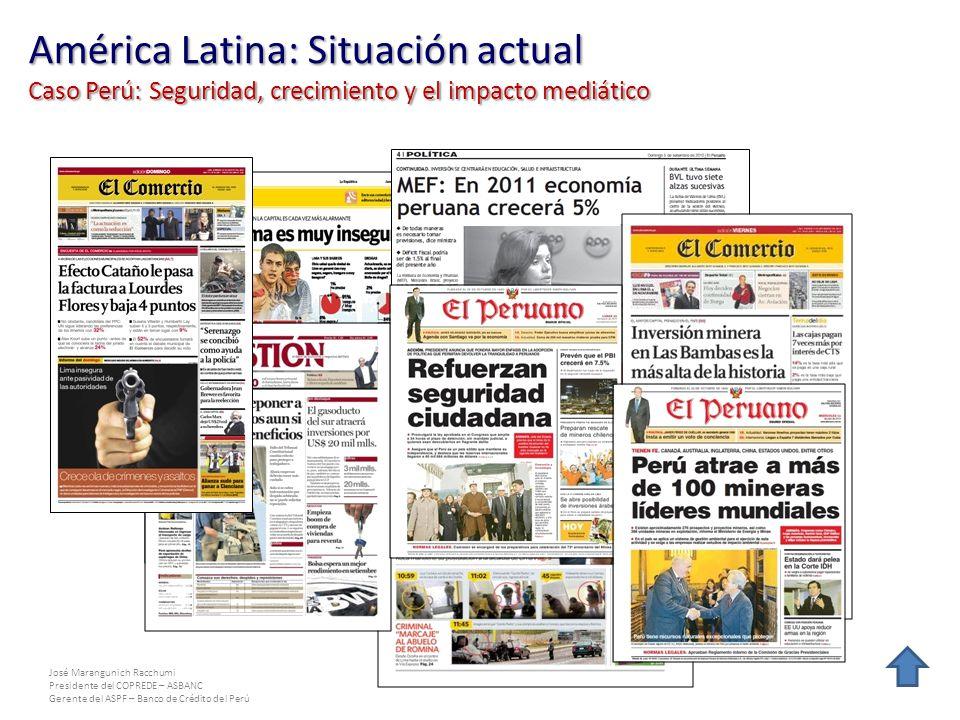 América Latina: Situación actual Caso Perú: Seguridad, crecimiento y el impacto mediático