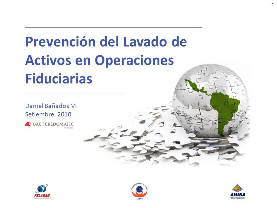 Prevención del Lavado de Activos en Operaciones Fiduciarias