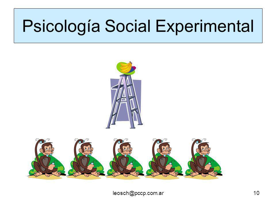 Psicología Social Experimental