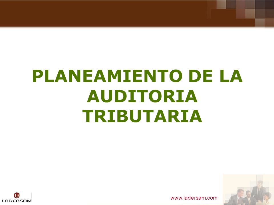 PLANEAMIENTO DE LA AUDITORIA TRIBUTARIA