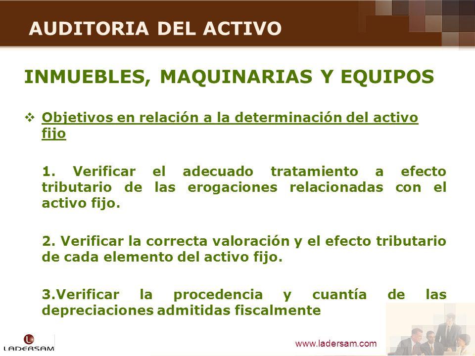 INMUEBLES, MAQUINARIAS Y EQUIPOS