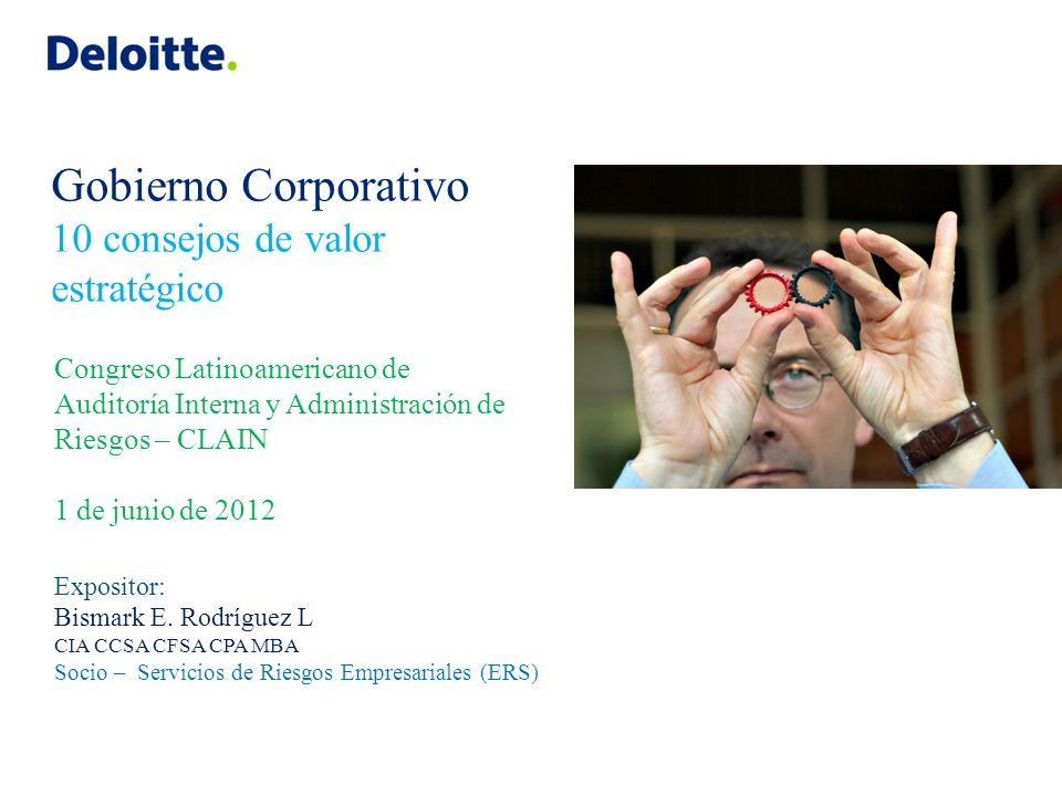 Resumen Bismark Rodríguez CIA CCSA CFSA CPC MBA