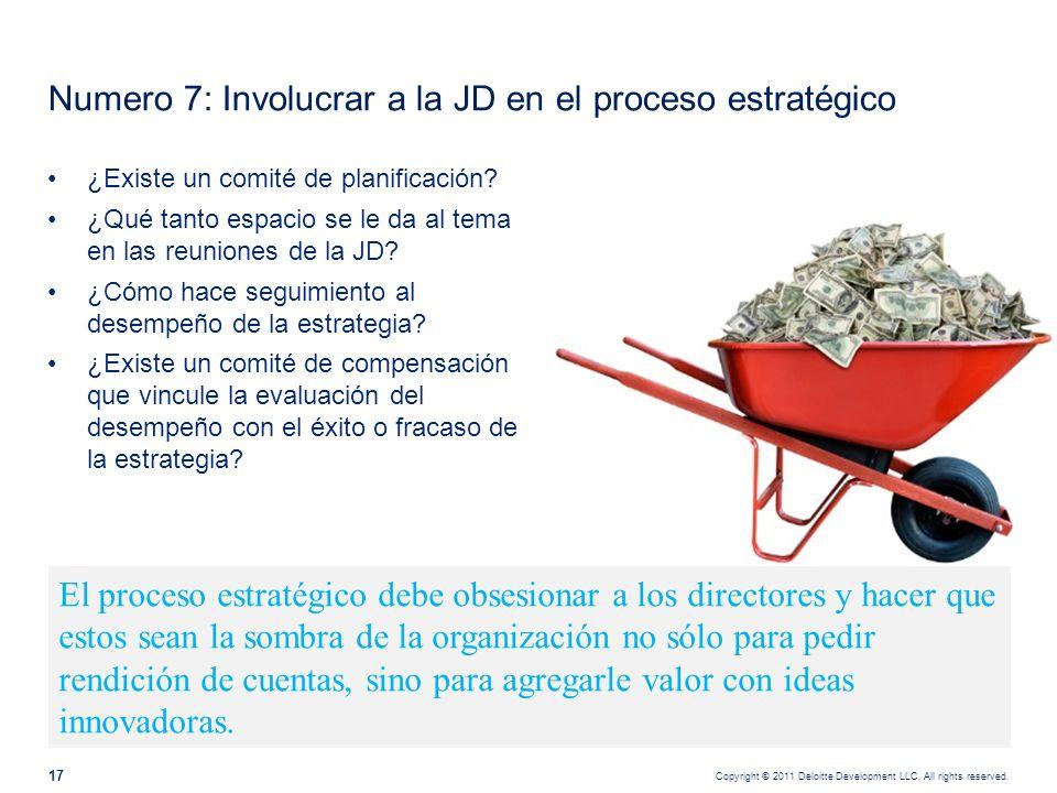Numero 8: Establecer criterios de sostenibilidad del negocio