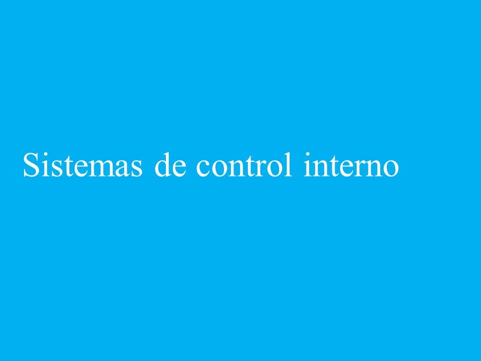 Responsabilidades y retos en materia de control interno y administración de riesgos