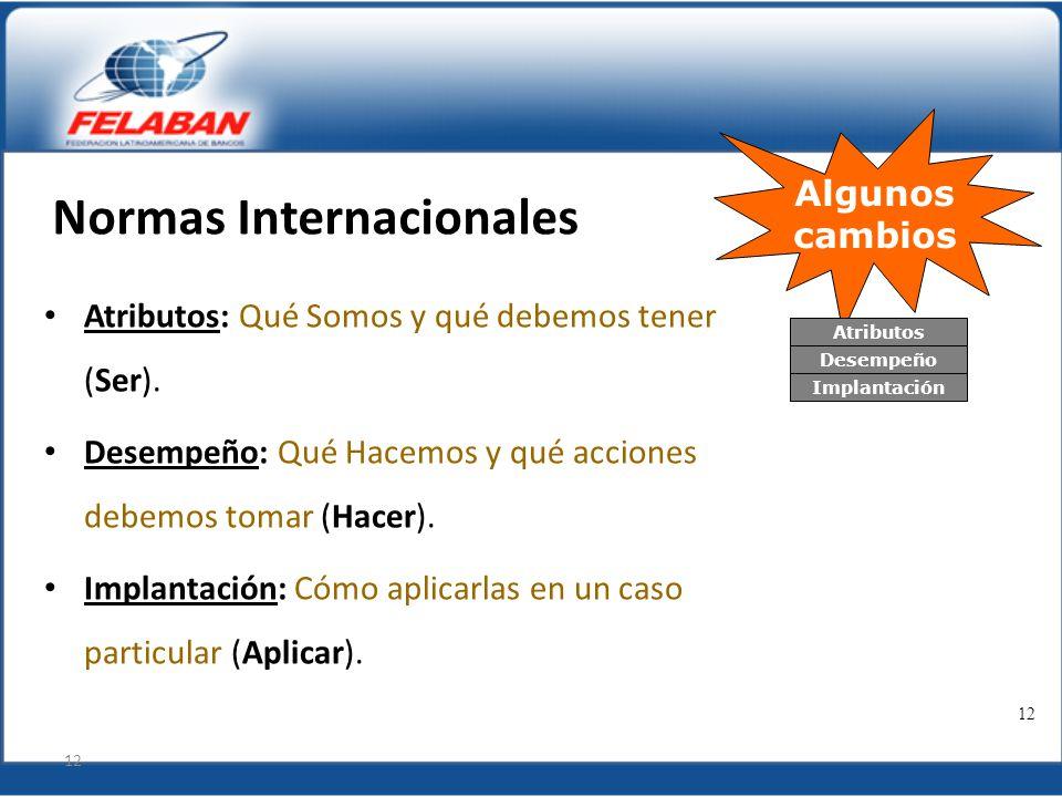 Normas Internacionales