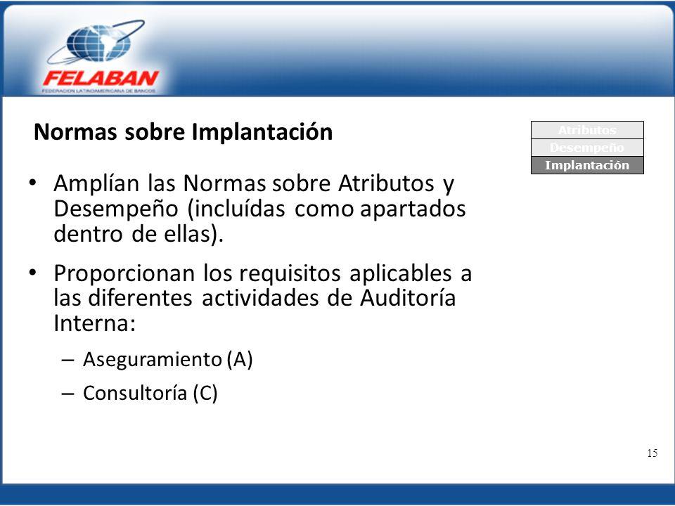 Normas sobre Implantación