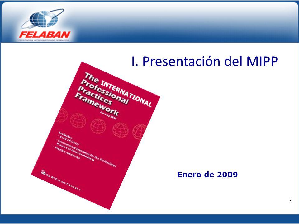 I. Presentación del MIPP