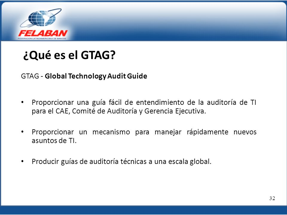 ¿Qué es el GTAG GTAG - Global Technology Audit Guide
