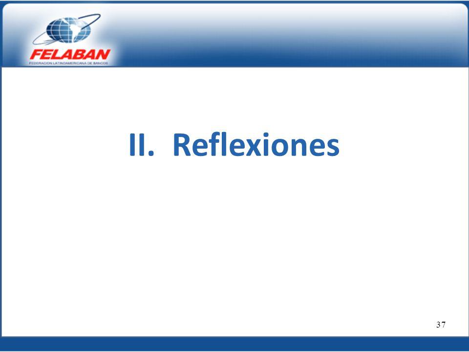 II. Reflexiones 37