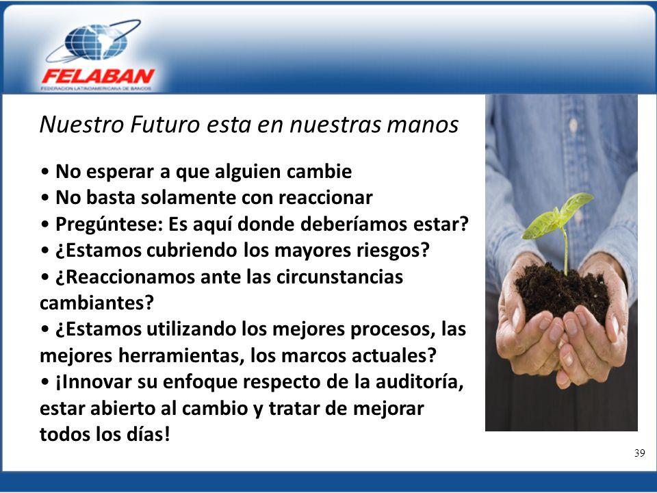 Nuestro Futuro esta en nuestras manos