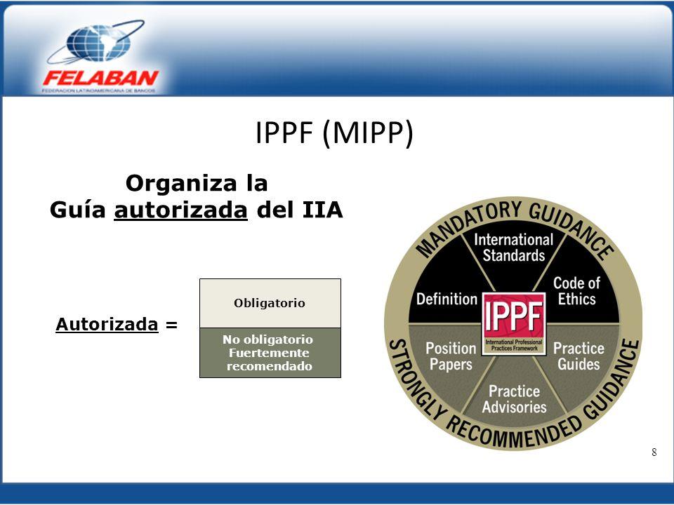 Guía autorizada del IIA