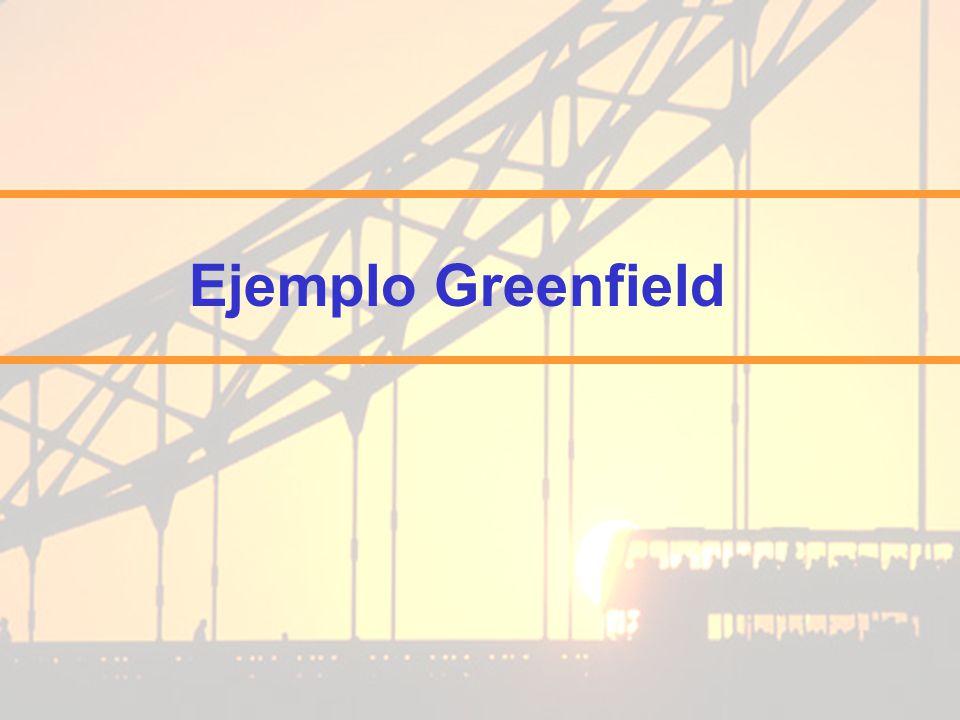 Ejemplo Greenfield