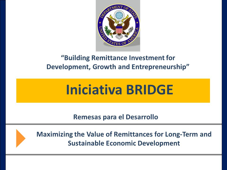 Building Remittance Investment for Development, Growth and Entrepreneurship