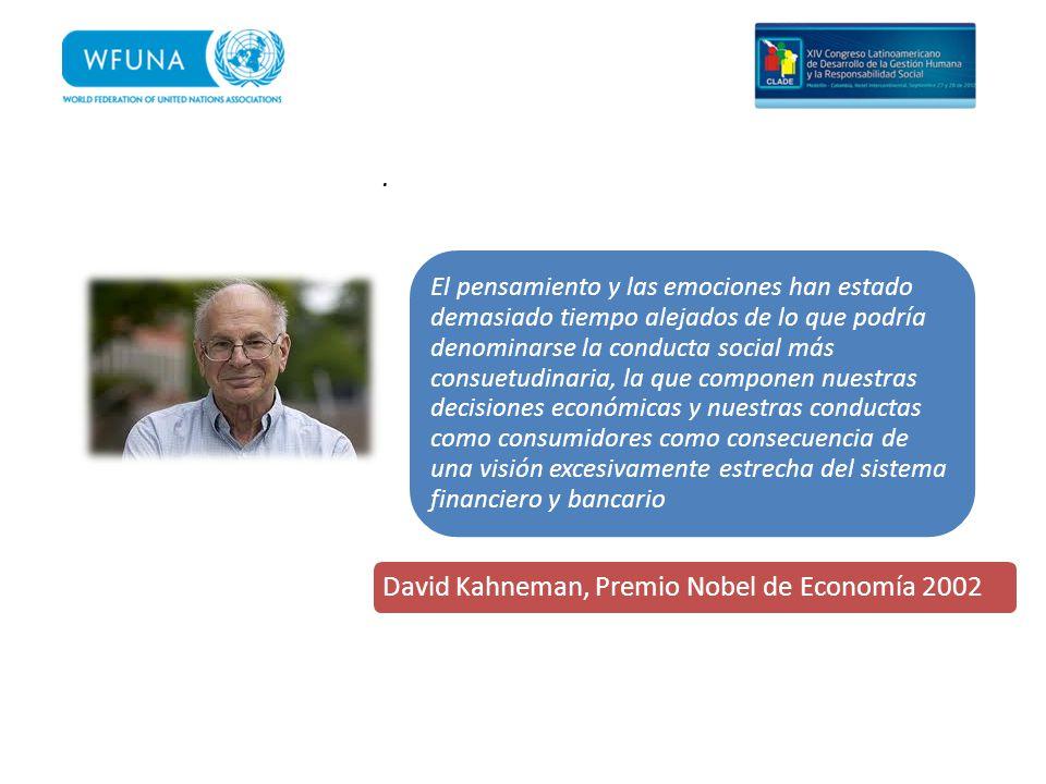 David Kahneman, Premio Nobel de Economía 2002