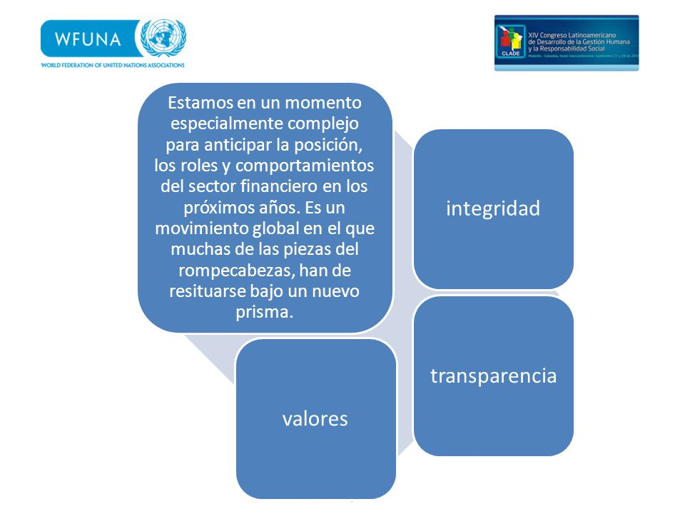 integridad transparencia valores