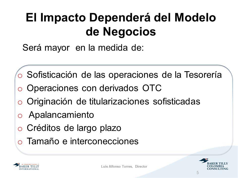 El Impacto Dependerá del Modelo de Negocios