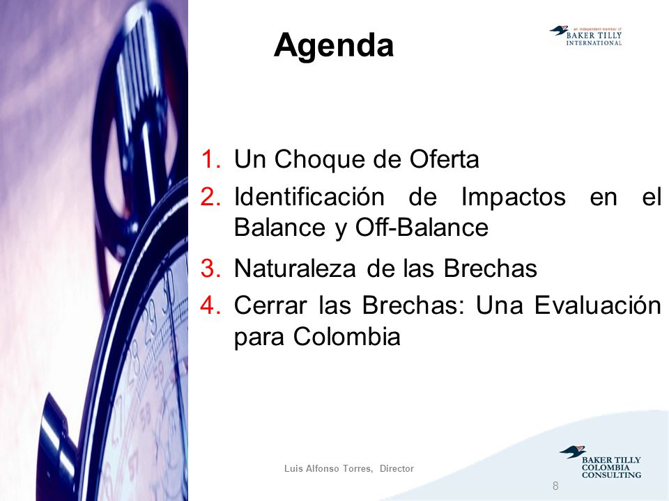 Agenda Un Choque de Oferta
